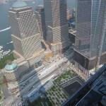 The September 11 Memorial Plaza and World Financial Center.