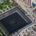 Construction continues at the September 11 Memorial Plaza.