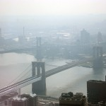 The view to Brooklyn from Four World Trade.
