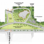 Kimball Park enlargement plan. (Courtesy Michael Van Valkenburgh Associates)
