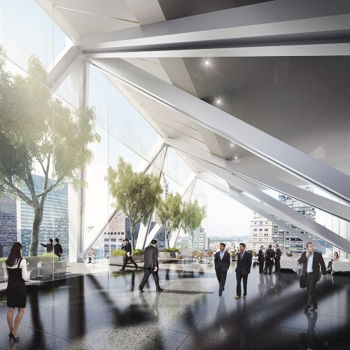 Norman Foster's winning design. (Courtesy Foster + Partners)