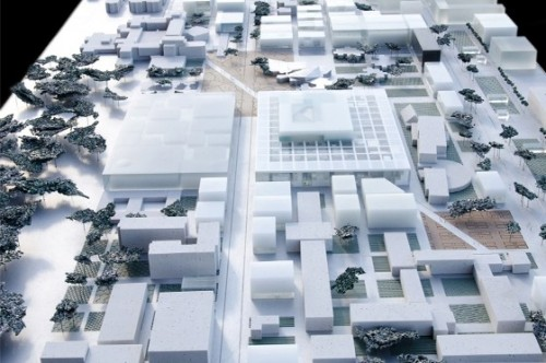Overview of École Centrale (Courtesy OMA)