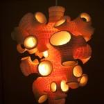 Sponge Lamp, by B+U (MAK Center)