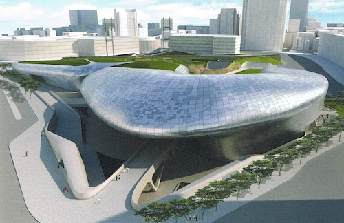Evolute, a Collaboration conference workshop leader, consulted on Dongdaemun Design Plaza and Park designed by Zaha Hadid, to open in Seoul in 2013.