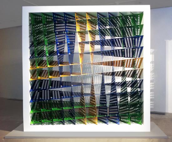 Wonder Wall, a kinetic piece by Heather Flood (Courtesy Heather Flood)