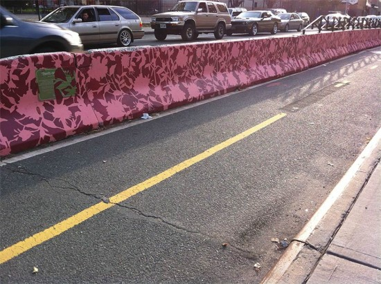 Lynch's Barrier Beautification, Flushing Ave, Brooklyn.