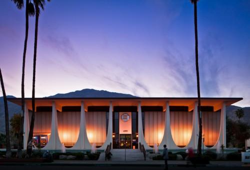 E. Stewart Williams' Coachella Valley Savings and Loan in Palm Springs (Docomomo)