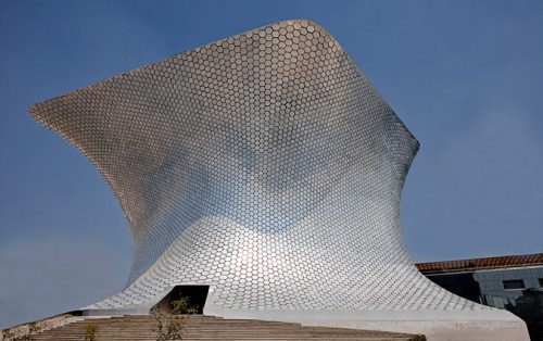 Museo Soumaya by FREE to be a case study in Revit Parametric Facades workshop.
