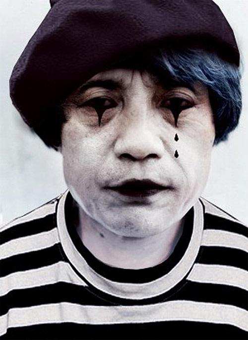 Tadao Ando as a Mime. (Courtesy Building Satire)