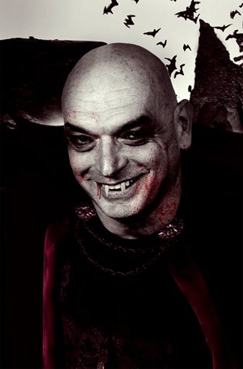 Jean Nouvel as a Vampire. (Courtesy Building Satire)