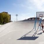 Basketball goal - Mogadishu, Somalia.  ( Torbin Eskerod, Courtesy Superflex)