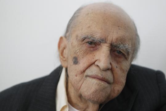 104-Year-Old Architect Oscar Niemeyer in Hospital