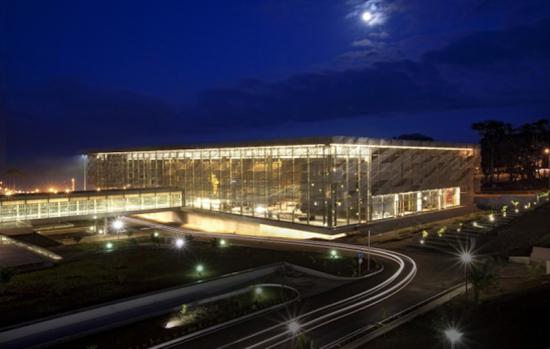 Sipopo Congress Center in Malabo, the capital of Equatorial New Guinea