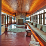 Frank Lloyd Wright's Massaro House.