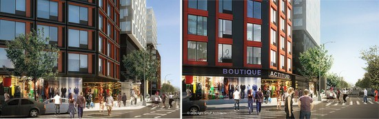 SHoP refines the design of the Atlantic Yards B2 Tower as groundbreaking approaches. (Courtesy SHoP)