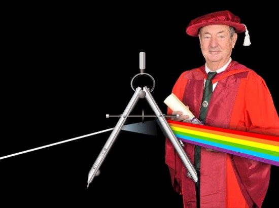 Pink Floyd drummer Nick Mason awarded an honorary architecture degree.