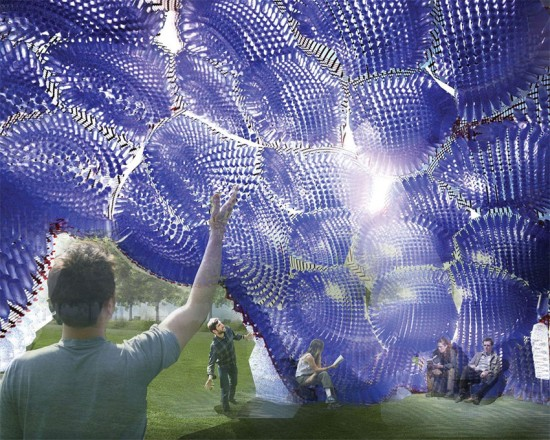 Head in the Clouds pavilion by Studio Klimoski Chang Architects. (Courtesy Figment)