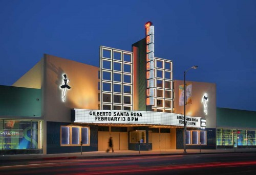 The recently-renovated Hollywood Palladium. (Coe Architecture)