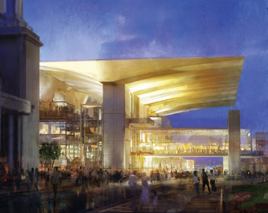 Rendering of Barton Myers' DPAC Orlando Performing Arts Center. (Courtesy Barton Myers)