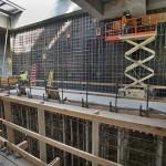 Construction progress inside the 7 Line subway extension. (Patrick Cashin/Courtesy MTA)