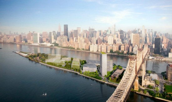 The Cornell Technion Campus on Roosevelt Island. (Courtesy Kilograph)