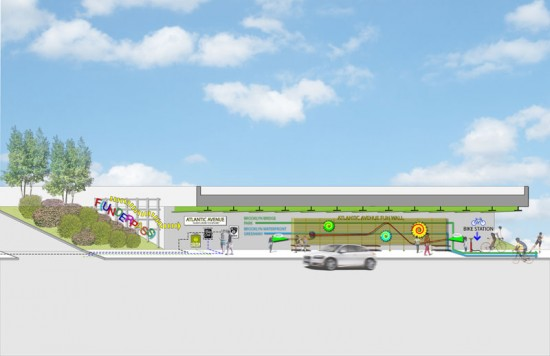 Conceptual drawing of the F(underpass) prepared by Planning Corps. (Courtesy of Planning Corps/Eric Galipo)