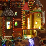 Brothers Grimm Castle of Fairy Tales - drawbridge detail. 4D Architects, Inc.; Banquet Chef Jay Sardeson (Ariel Rosenstock)