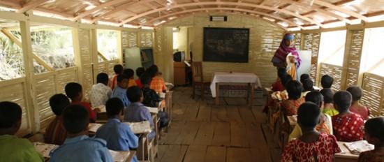Bangladeshi School Boat (Courtesy Shidhulai Swanirvar Sangstha)