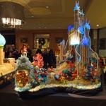 Ariel's Underwater Castle. Callison; Pastry Chef Wally Walberg (Ariel Rosenstock)