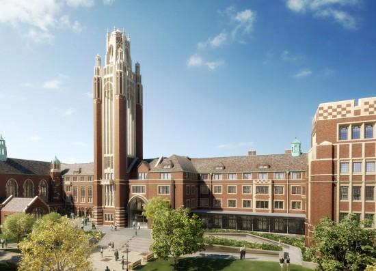 University of Chicago, Becker Friedman Institute (Courtesy Ann Beha Architects)