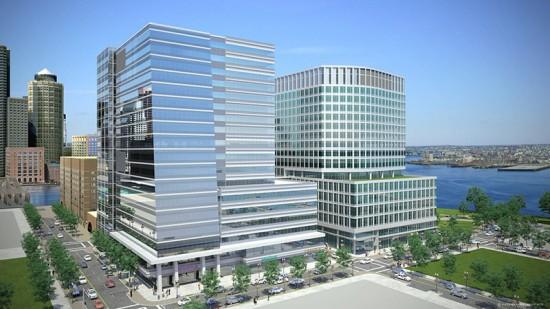 Vertex Pharmaceutical's New Headquarters (Courtesy of Elkus Manfredi Architects)