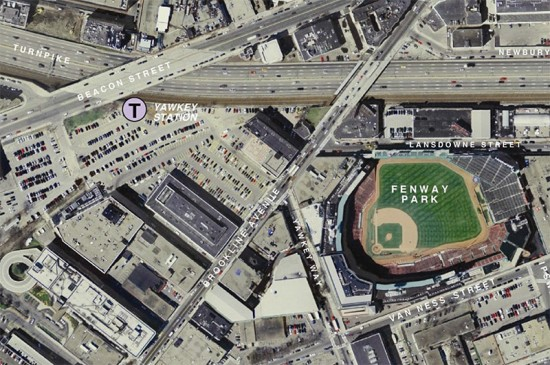 Fenway Center site. (Courtesy of Meredith Management Corporation)