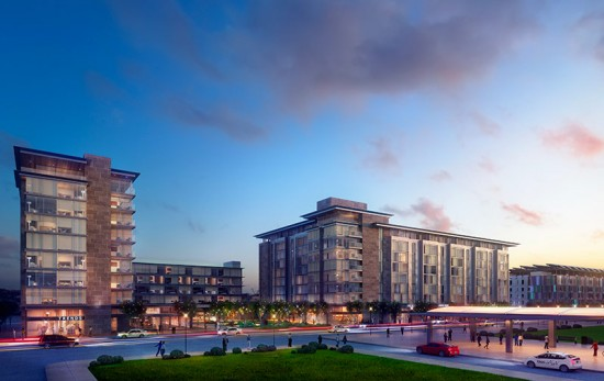 Renderings of hotels proposed on D Street (Courtesy of the Massachusettes Convention Center Authority)