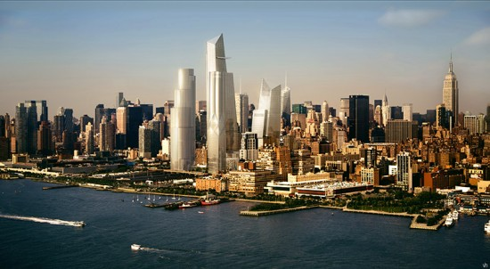 Hudson Yards stands tall on Manhattan's West Side. (Courtesy Related)