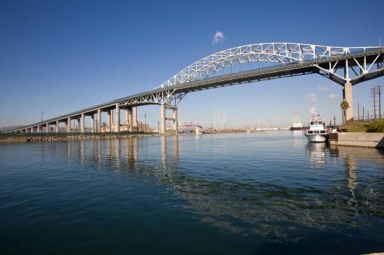 Existing Desmond Bridge (Port of Long Beach)