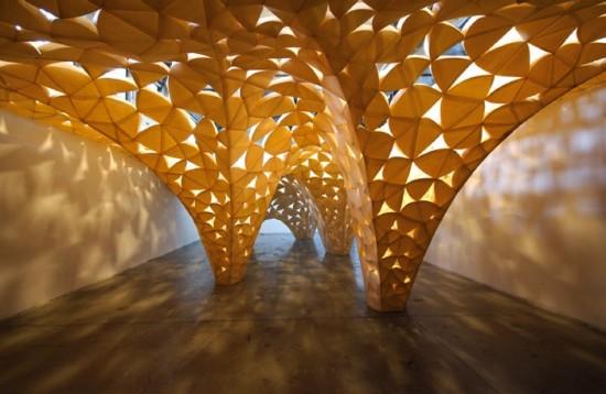 An installation by Iwamoto Scott (courtesy Iwamoto Scott)