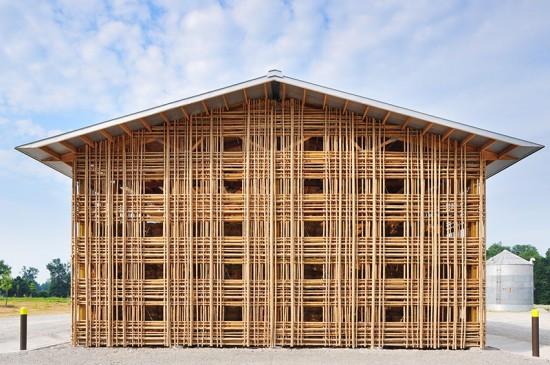Mason Lane Farm Operations Facility (Courtesy of De Leon & Primmer Architecture Workshop)