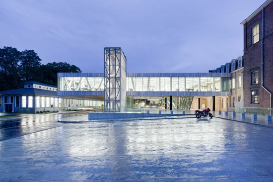 Milstein Hall, Cornell University (Courtesy of Iwan Baan and OMA)