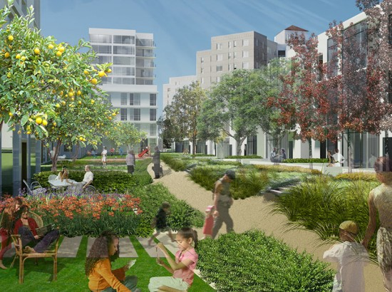 Parkmerced Vision Plan (Courtesy of Skidmore, Owings & Merrill LLP)