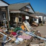 Houses damaged by Hurricane Sandy (Courtesy of David Sundberg)