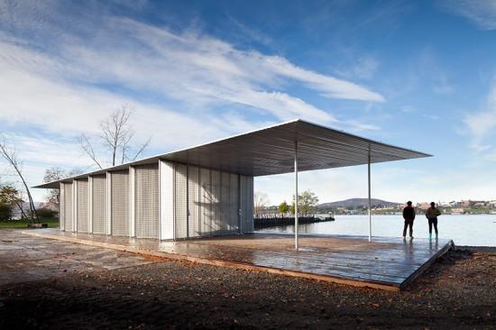 Boat Pavilion for Long Dock Park (Courtesy of James Ewing)