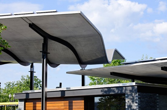Boston Harbor Islands Pavilion. (Chuck Choi)