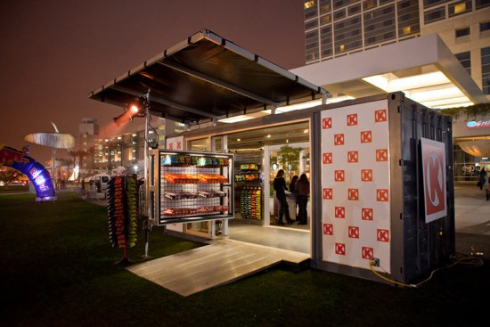Pop-up Circle K convenience store for Red Bull No Year No Limits. (Courtesy Boxman Studios)