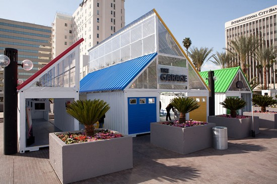 Google Village at TED Long Beach. (Courtesy Boxman Studios)