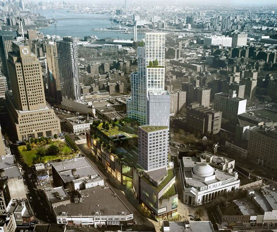 City Point in Downtown Brooklyn. (Courtesy COOKFOX)