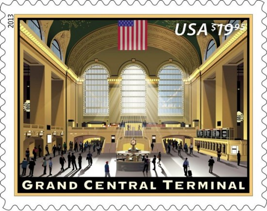 Grand Central Terminal to have its own stamp. (Courtesy USPS)