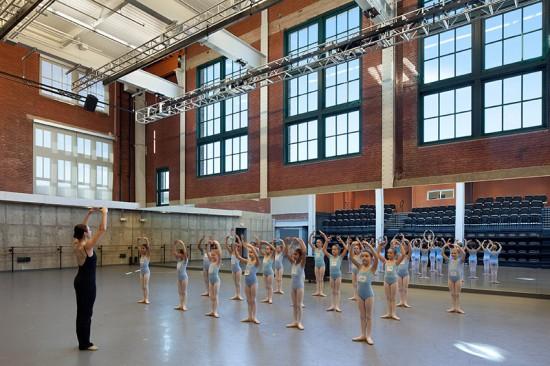 Todd Bolender Center for Dance and Creativity (Courtesy of Dan Videtich)