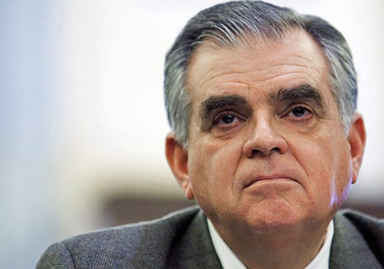 Ray LaHood. (Courtesy USDOT Fast Lane Blog)