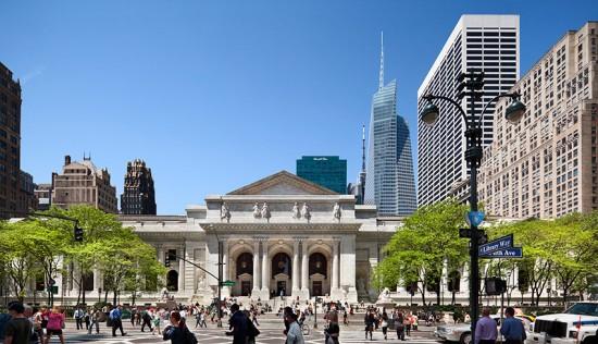 The New York Public Library - Exterior Restoration (Courtesy of Peter Aarron/ESTO)