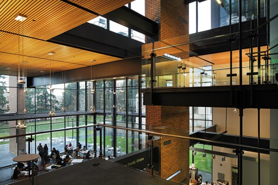 PACCAR Hall, Foster School of Business, University of Washington (Courtesy of Ed LaCasse)